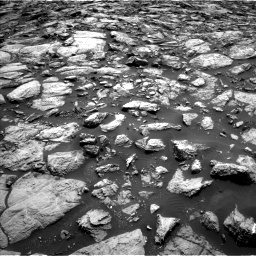 Nasa's Mars rover Curiosity acquired this image using its Left Navigation Camera on Sol 1469, at drive 66, site number 58