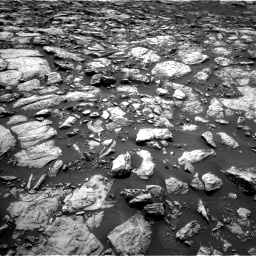 Nasa's Mars rover Curiosity acquired this image using its Left Navigation Camera on Sol 1469, at drive 90, site number 58