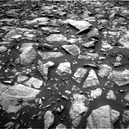 Nasa's Mars rover Curiosity acquired this image using its Left Navigation Camera on Sol 1469, at drive 138, site number 58