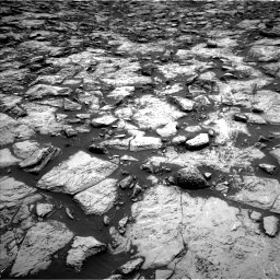 Nasa's Mars rover Curiosity acquired this image using its Left Navigation Camera on Sol 1469, at drive 174, site number 58
