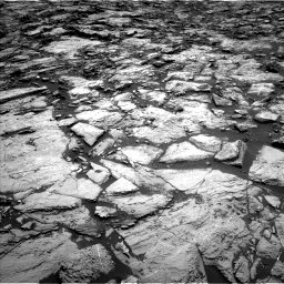 Nasa's Mars rover Curiosity acquired this image using its Left Navigation Camera on Sol 1469, at drive 186, site number 58