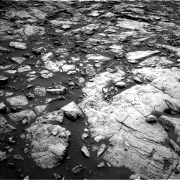Nasa's Mars rover Curiosity acquired this image using its Left Navigation Camera on Sol 1469, at drive 210, site number 58