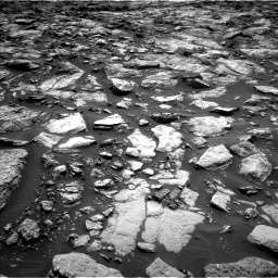 Nasa's Mars rover Curiosity acquired this image using its Left Navigation Camera on Sol 1469, at drive 246, site number 58