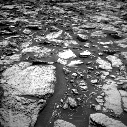 Nasa's Mars rover Curiosity acquired this image using its Left Navigation Camera on Sol 1469, at drive 252, site number 58