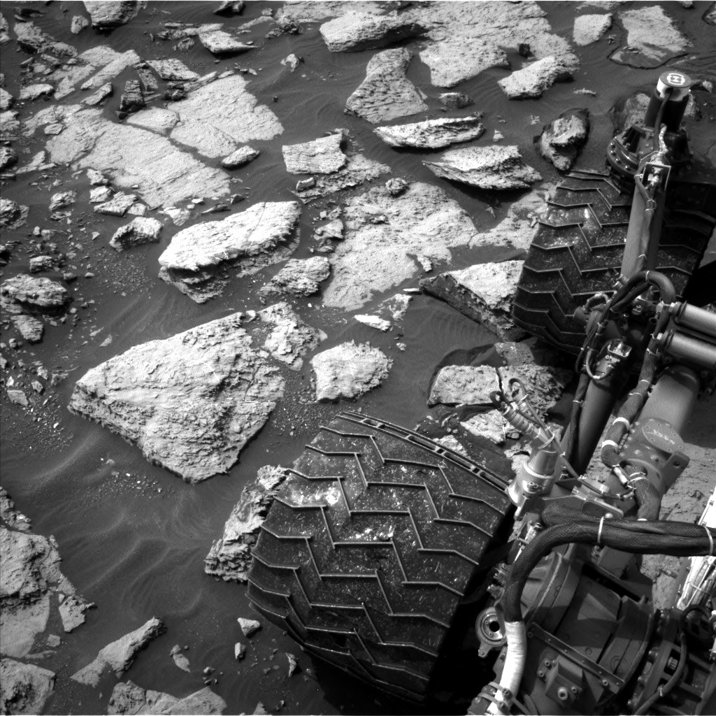 Nasa's Mars rover Curiosity acquired this image using its Left Navigation Camera on Sol 1469, at drive 264, site number 58