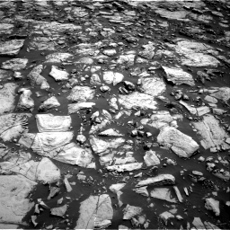 Nasa's Mars rover Curiosity acquired this image using its Right Navigation Camera on Sol 1469, at drive 12, site number 58