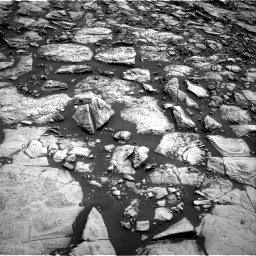 Nasa's Mars rover Curiosity acquired this image using its Right Navigation Camera on Sol 1469, at drive 24, site number 58
