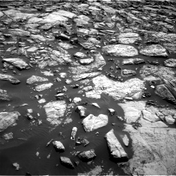 Nasa's Mars rover Curiosity acquired this image using its Right Navigation Camera on Sol 1469, at drive 36, site number 58