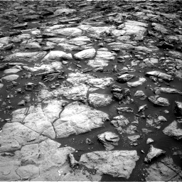 Nasa's Mars rover Curiosity acquired this image using its Right Navigation Camera on Sol 1469, at drive 60, site number 58