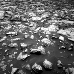 Nasa's Mars rover Curiosity acquired this image using its Right Navigation Camera on Sol 1469, at drive 72, site number 58