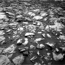 Nasa's Mars rover Curiosity acquired this image using its Right Navigation Camera on Sol 1469, at drive 90, site number 58