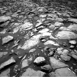 Nasa's Mars rover Curiosity acquired this image using its Right Navigation Camera on Sol 1469, at drive 120, site number 58