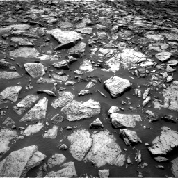 Nasa's Mars rover Curiosity acquired this image using its Right Navigation Camera on Sol 1469, at drive 132, site number 58