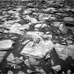 Nasa's Mars rover Curiosity acquired this image using its Right Navigation Camera on Sol 1469, at drive 156, site number 58