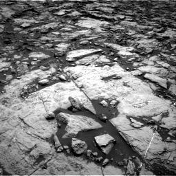 Nasa's Mars rover Curiosity acquired this image using its Right Navigation Camera on Sol 1469, at drive 204, site number 58