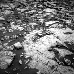 Nasa's Mars rover Curiosity acquired this image using its Right Navigation Camera on Sol 1469, at drive 210, site number 58