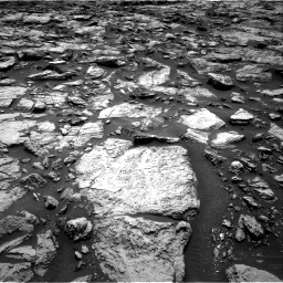Nasa's Mars rover Curiosity acquired this image using its Right Navigation Camera on Sol 1469, at drive 258, site number 58
