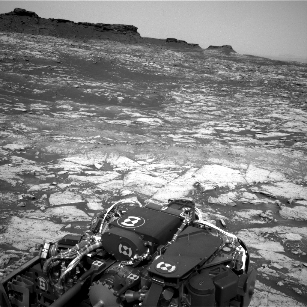 Nasa's Mars rover Curiosity acquired this image using its Right Navigation Camera on Sol 1469, at drive 264, site number 58