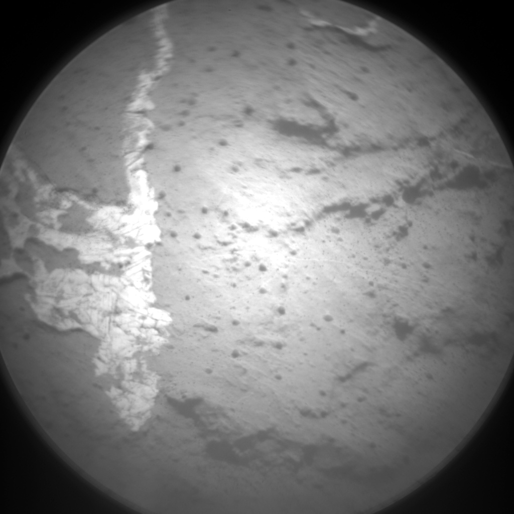 Nasa's Mars rover Curiosity acquired this image using its Chemistry & Camera (ChemCam) on Sol 1470, at drive 264, site number 58
