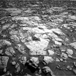 Nasa's Mars rover Curiosity acquired this image using its Left Navigation Camera on Sol 1471, at drive 318, site number 58