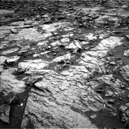 Nasa's Mars rover Curiosity acquired this image using its Left Navigation Camera on Sol 1471, at drive 378, site number 58