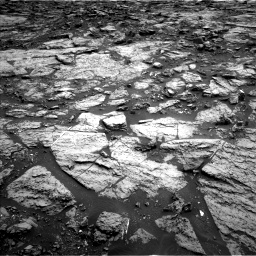 Nasa's Mars rover Curiosity acquired this image using its Left Navigation Camera on Sol 1471, at drive 390, site number 58