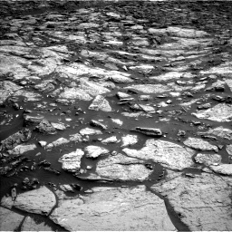Nasa's Mars rover Curiosity acquired this image using its Left Navigation Camera on Sol 1471, at drive 444, site number 58