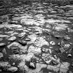 Nasa's Mars rover Curiosity acquired this image using its Left Navigation Camera on Sol 1471, at drive 462, site number 58