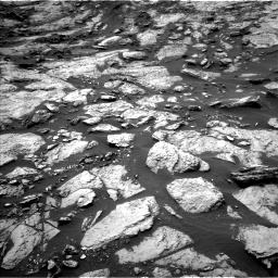 Nasa's Mars rover Curiosity acquired this image using its Left Navigation Camera on Sol 1471, at drive 528, site number 58