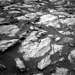 Nasa's Mars rover Curiosity acquired this image using its Left Navigation Camera on Sol 1471, at drive 558, site number 58