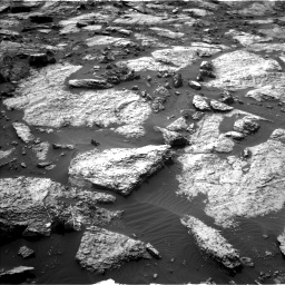 Nasa's Mars rover Curiosity acquired this image using its Left Navigation Camera on Sol 1471, at drive 564, site number 58