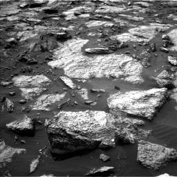 Nasa's Mars rover Curiosity acquired this image using its Left Navigation Camera on Sol 1471, at drive 570, site number 58