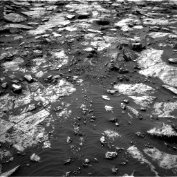 Nasa's Mars rover Curiosity acquired this image using its Left Navigation Camera on Sol 1471, at drive 582, site number 58