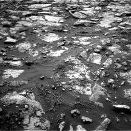 Nasa's Mars rover Curiosity acquired this image using its Left Navigation Camera on Sol 1471, at drive 600, site number 58