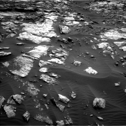Nasa's Mars rover Curiosity acquired this image using its Left Navigation Camera on Sol 1471, at drive 636, site number 58
