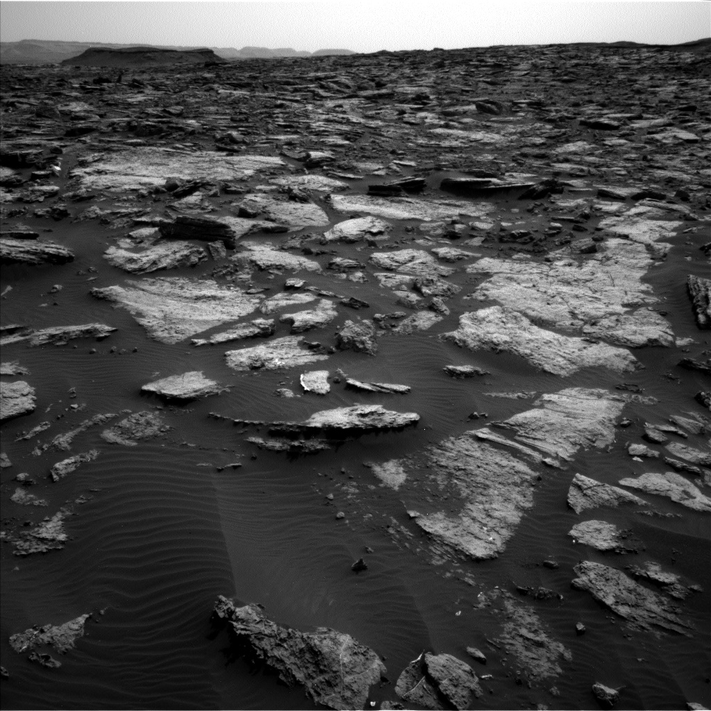 Nasa's Mars rover Curiosity acquired this image using its Left Navigation Camera on Sol 1471, at drive 642, site number 58