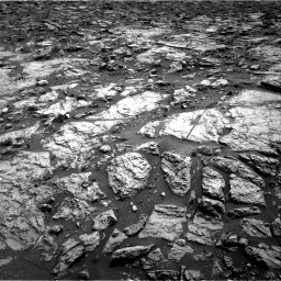 Nasa's Mars rover Curiosity acquired this image using its Right Navigation Camera on Sol 1471, at drive 372, site number 58