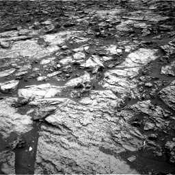Nasa's Mars rover Curiosity acquired this image using its Right Navigation Camera on Sol 1471, at drive 384, site number 58