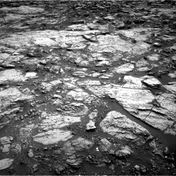 Nasa's Mars rover Curiosity acquired this image using its Right Navigation Camera on Sol 1471, at drive 402, site number 58