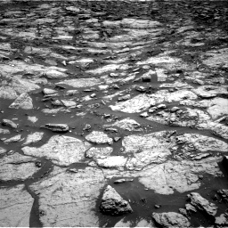 Nasa's Mars rover Curiosity acquired this image using its Right Navigation Camera on Sol 1471, at drive 438, site number 58