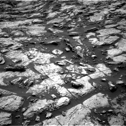 Nasa's Mars rover Curiosity acquired this image using its Right Navigation Camera on Sol 1471, at drive 504, site number 58