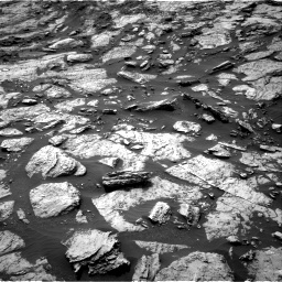Nasa's Mars rover Curiosity acquired this image using its Right Navigation Camera on Sol 1471, at drive 522, site number 58
