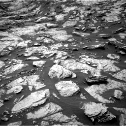 Nasa's Mars rover Curiosity acquired this image using its Right Navigation Camera on Sol 1471, at drive 528, site number 58