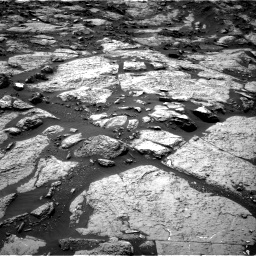 Nasa's Mars rover Curiosity acquired this image using its Right Navigation Camera on Sol 1471, at drive 552, site number 58