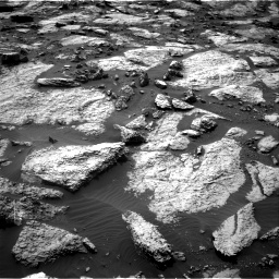 Nasa's Mars rover Curiosity acquired this image using its Right Navigation Camera on Sol 1471, at drive 564, site number 58
