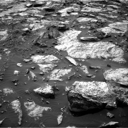 Nasa's Mars rover Curiosity acquired this image using its Right Navigation Camera on Sol 1471, at drive 576, site number 58