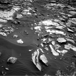 Nasa's Mars rover Curiosity acquired this image using its Right Navigation Camera on Sol 1471, at drive 630, site number 58