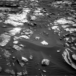 Nasa's Mars rover Curiosity acquired this image using its Right Navigation Camera on Sol 1471, at drive 636, site number 58