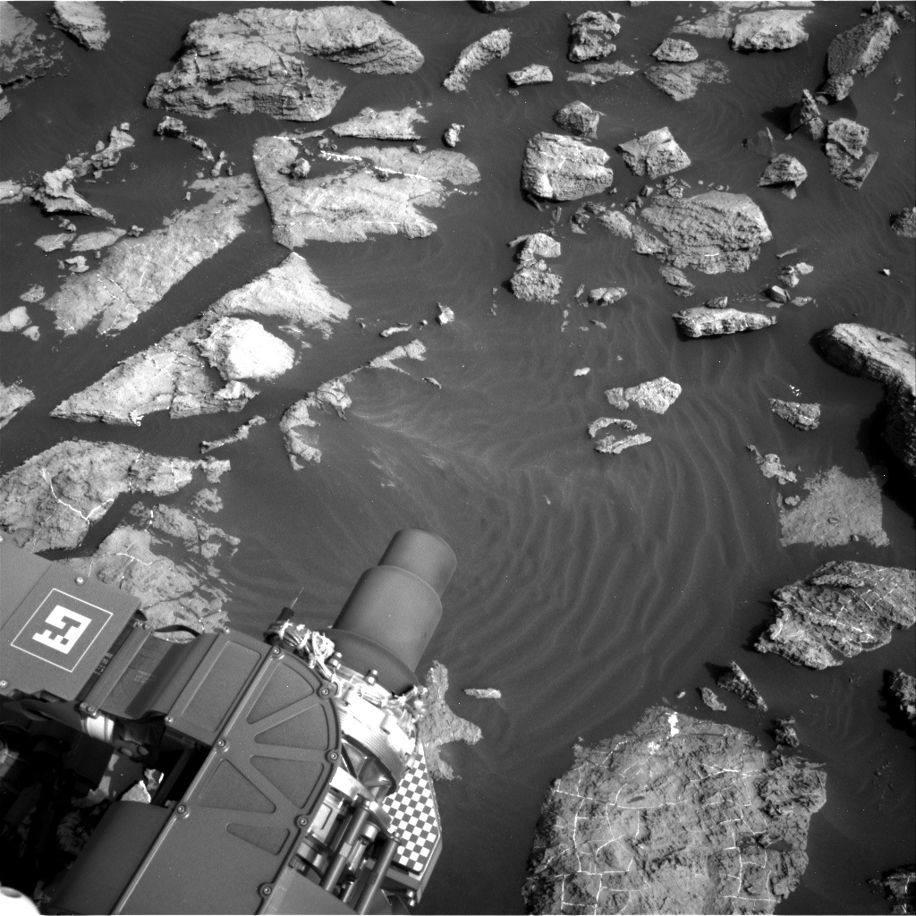 Nasa's Mars rover Curiosity acquired this image using its Right Navigation Camera on Sol 1471, at drive 642, site number 58