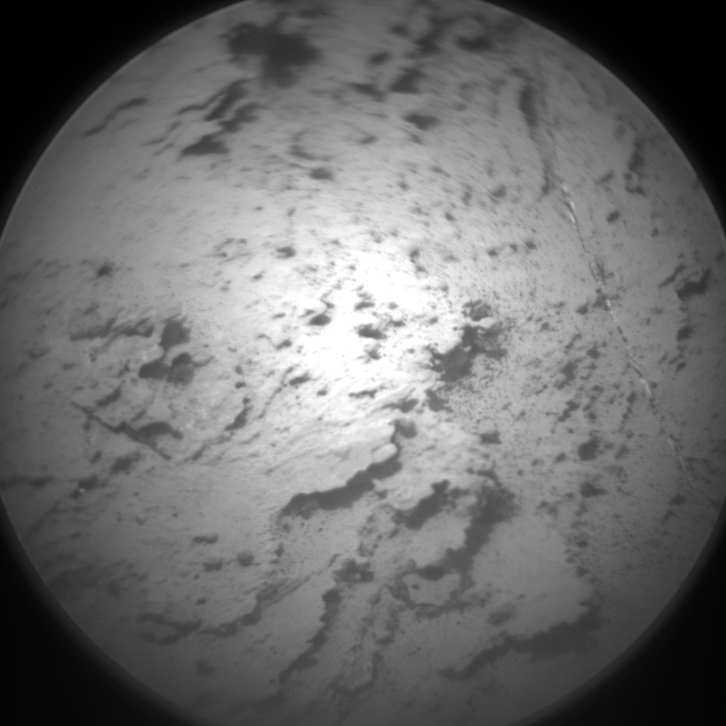 Nasa's Mars rover Curiosity acquired this image using its Chemistry & Camera (ChemCam) on Sol 1472, at drive 642, site number 58